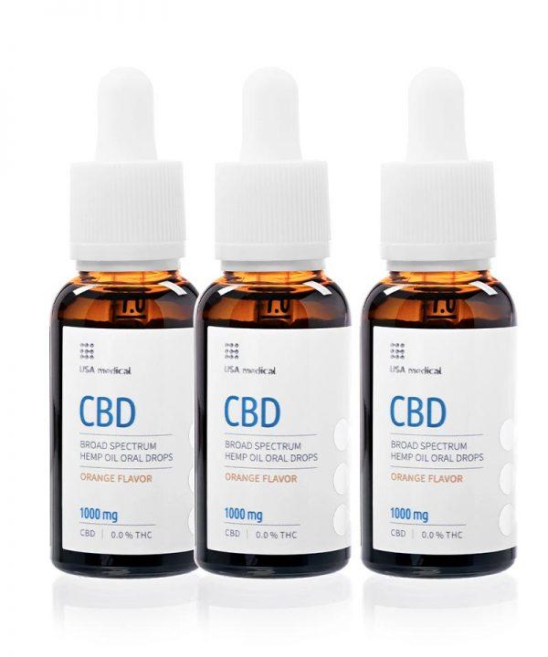 CBD olej 1000 mg * 3ks