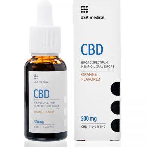 CBD olej 500 mg