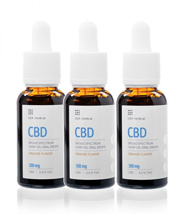 akcia CBD olej 500 mg