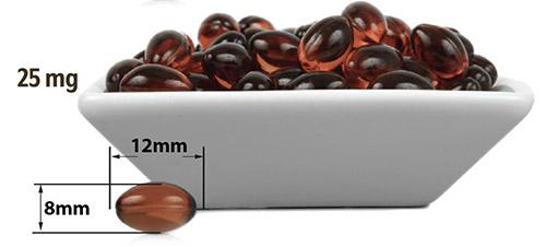 CBD kapsule 25 mg USA MEDICAL